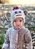 Sock Monkey Hat Knitting Pattern - All Sizes Newborn through Adult Male Included