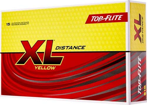 (Top Flite XL Distance Yellow (15 Pack))