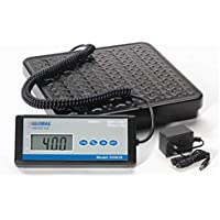 Digital Shipping Scale, 400 Lb x 0.5 Lb, AC Adapter Included