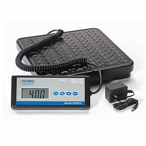 Digital Shipping Scale  400 Lb X 0 5 Lb  Ac Adapter Included