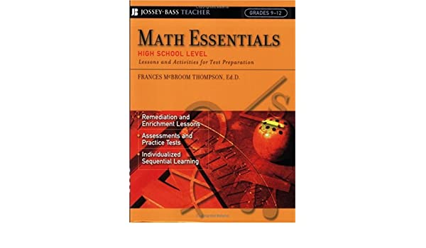 Amazon.com: Math Essentials, High School Level: Lessons and ...