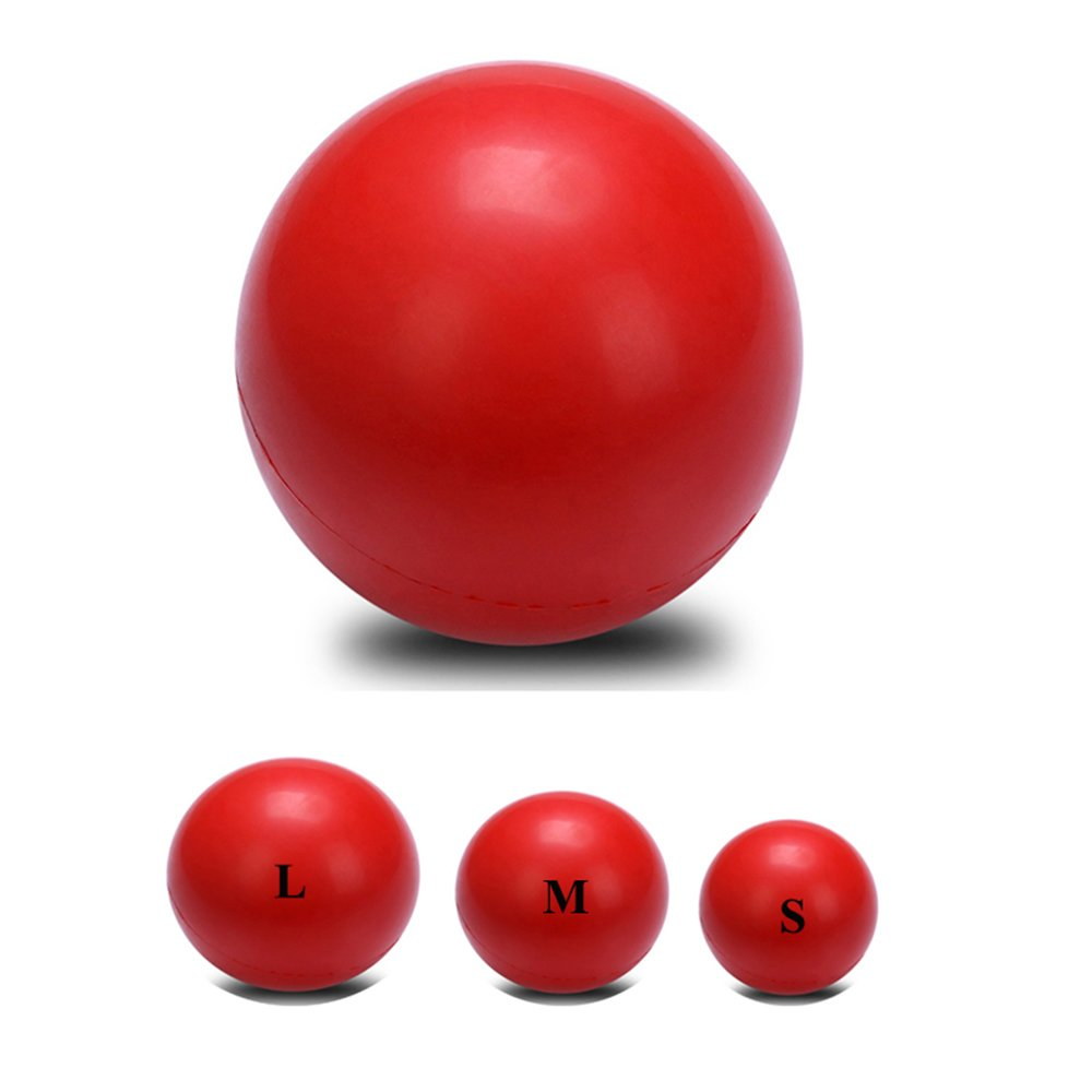 """Ø 2.6"""" Tennis Size New Rubber Dog Toys Solid Bouncing Ball Interactive Toys Bite Resistant Pet Ball Toy"""