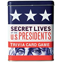 Secret Lives of the U.S. Presidents Trivia Card Game