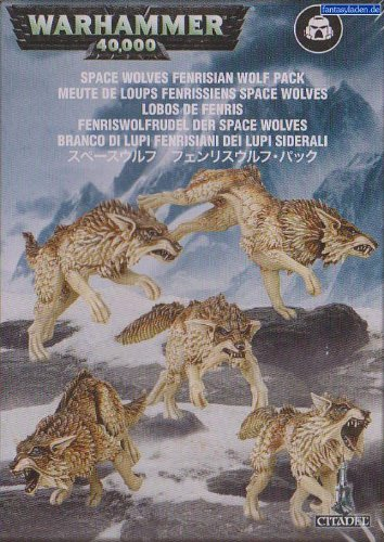 Games Workshop Space Wolves: Fenrisian Wolf Pack (2012)