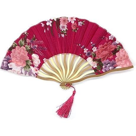 Rose Bamboo Hollow Flower Hand Fan Folding Pocket Fan Wedding Decoration Mariage