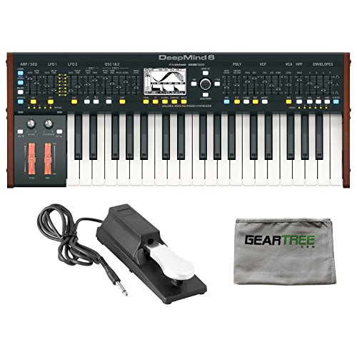 Phaser Behringer (Behringer Deepmind 6 Analog 6 Voice Polyphonic Synthesizer w/ Sustain Pedal and)