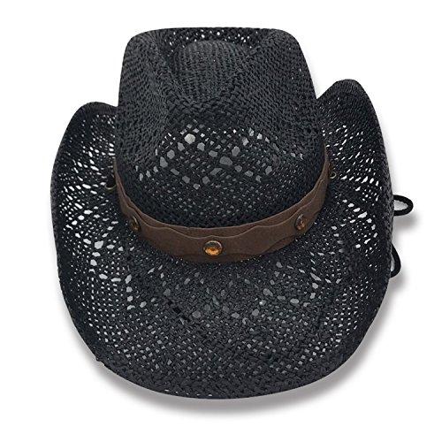 AccessHeadwear Old Stone Lacey Women's Cowboy Drifter Style Hat, ()