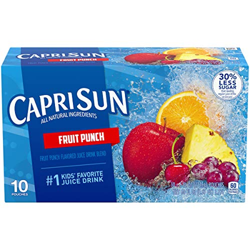 Capri Sun Fruit Punch