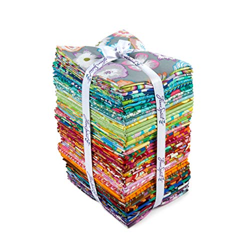 FreeSpirit Fabrics 50 Piece Designer Fat Quarter Fabric, Multicolor by Free Spirit Fabrics (Image #1)