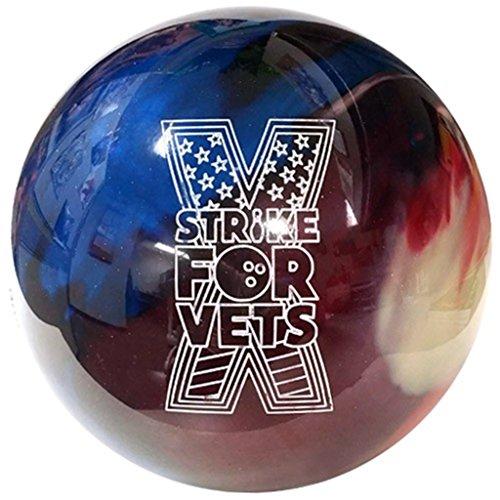 Ebonite Cyclone Bowling Ball- Strike for Vets (12lbs)