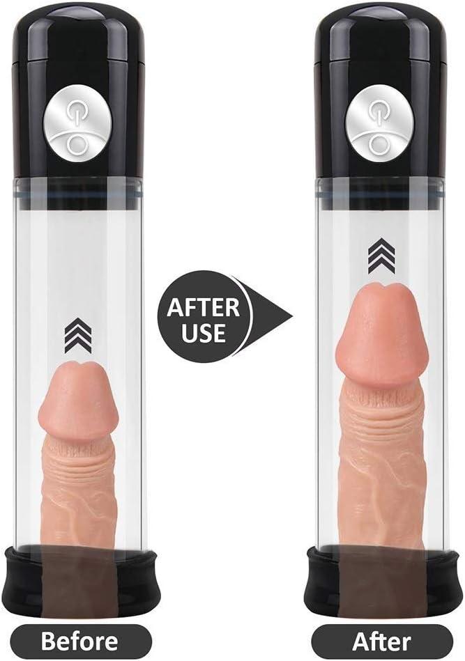 UXBCR Pleasure Automatic P`ênís P-ump En-Large Ment P-ump En-Larger Vacuum Suction P`ênís Ex-Tender Sexxa Toys Exercise Adullt Products for Men Best Relax Toy