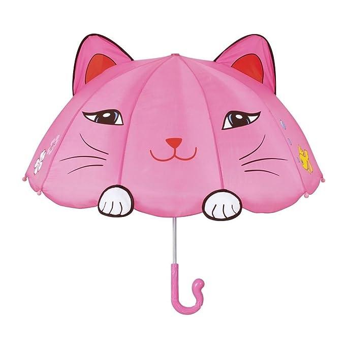 Kidorable/Niños Chicas Paraguas 100% Nylon Brolly - Gato Suertudo: Ballerina: Amazon.es: Ropa y accesorios