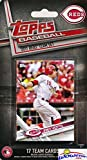 Cincinnati Reds 2017 Topps Baseball EXCLUSIVE Special Limited Edition 17 Card Complete Team Set with Joey Votto, Billy Hamilton & Many More Stars & Rookies! Shipped in Bubble Mailer! WOWZZER!
