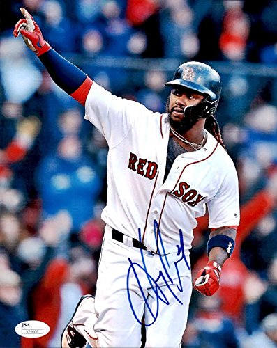 Signed Hanley Ramirez Picture - 8x10 - JSA Certified - Autographed MLB Photos