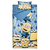 Despicable Me Minions 2 Piece Sleepover Slumber Set Sleeping Bag Super Soft Pillow
