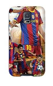 Perfect Fit UEQiuUC5934guGJL Lionel Messi Fc Barcelona Case For Galaxy - S5