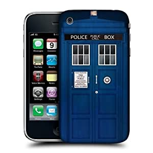 Head Case Designs Police Box Telephone Booth Protective Snap-on Hard Back Case Cover for Apple iPhone 3G 3GS by icecream design