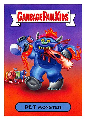 2018 Topps Garbage Pail Kids Series 1 We Hate the 80s Trading Cards 80s TOYS #4A PET MONSTER ()