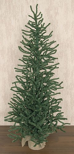 Heart of America Pine Tree with Burlap Base 5 Ft.
