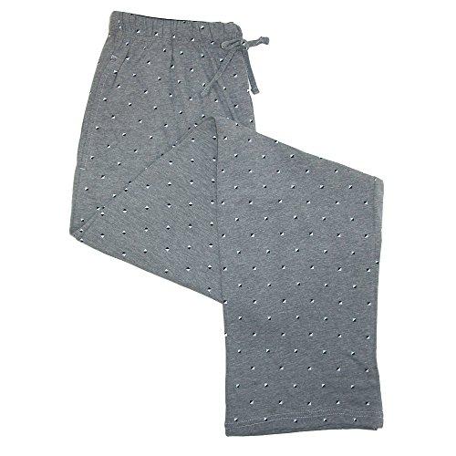 Hanes Men's Cotton ComfortSoft Printed Knit Pants, XXLarge, (Pattern Cotton Sleep Pants)