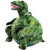 WALIKI TOYS Toothy: Adult Size Dinosaur Plush Jumping Hop Ball Hopper (Hoppity Hop)