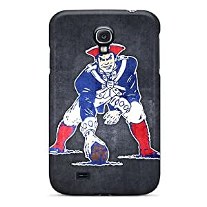 Premium Protection New England Patriots 10 Case Cover For Galaxy S4- Retail Packaging