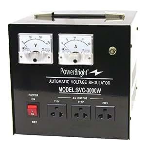 Amazon Com Powerbright 3000 Watt Voltage Regulator Step