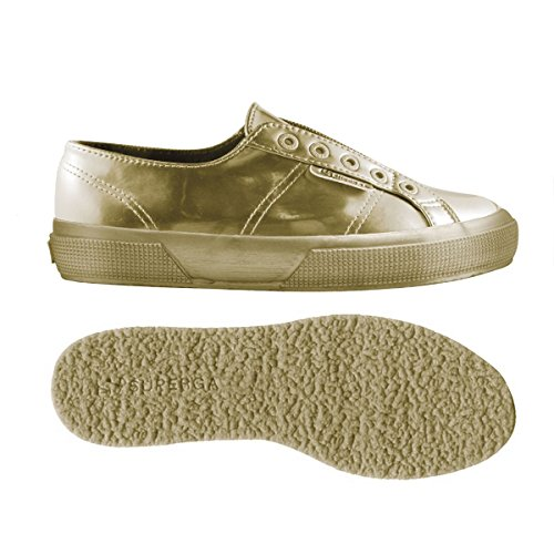 Woman Geraldina 2750 Superga sliponmirrorw Gold Yellow 0B76qFw6