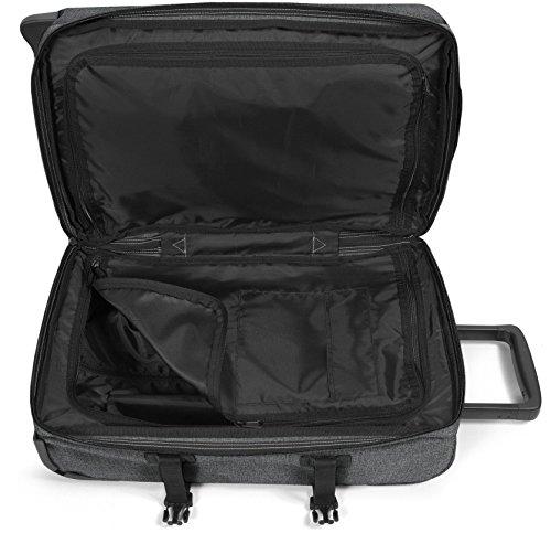 Eastpak Trolley Tasche M TRANVERZ 3,2 kg Anthrazit Schwarz 67x35x30cm Polyester Stoff Reisetasche Koffer Bowatex