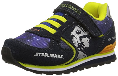 Stride Rite Star Wars Retro Skywalker Sneaker (Toddler),Navy,5.5 M US Toddler