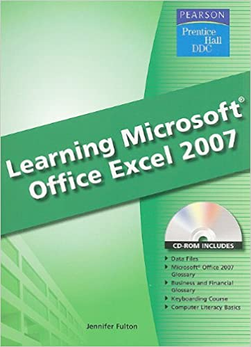 microsoft excel learning pdf
