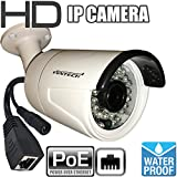 Cheap Ventech VT-R889IP 1 Megapixel 720P HD Indoor Outdoor POE IP Bullet Camera network Surveillance Security Camera with 3.6mm Lens – No Power Supply