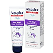 Aquaphor Baby Diaper Rash Paste, 3.5 Ounce (Pack of 3) (Packaging May Vary)