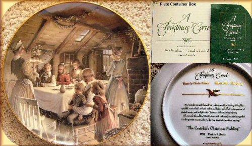 1991 A Christmas Carol Fine Porcelain Collector's Plate (1991 Christmas Plate)
