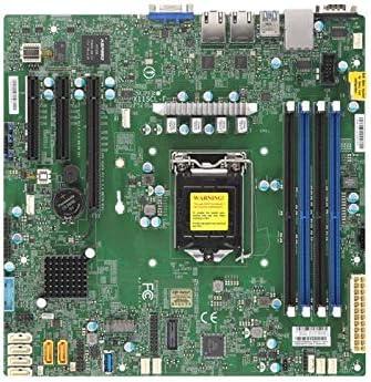 Supermicro MBD-X11SCL-F-O C242 LGA1151 4X DDR4 2666MHZ ECC UDIMM PCH 3X PCI-E