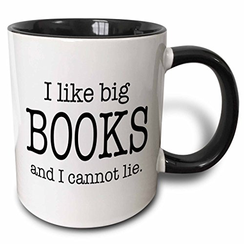 3dRose mug_112244_4 like books cannot