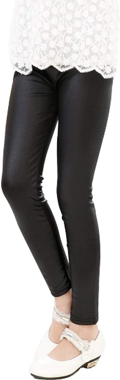 Amazon.com: Tulucky - Leggings elásticos de piel sintética ...