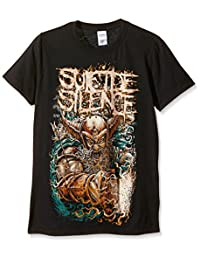 Plastic Head Men's Suicide Silence Viking Crew Neck Short Sleeve T-Shirt