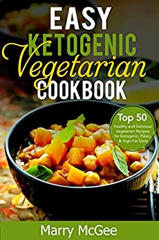 Easy Ketogenic Vegetarian Cookbook Delicious ebook product image
