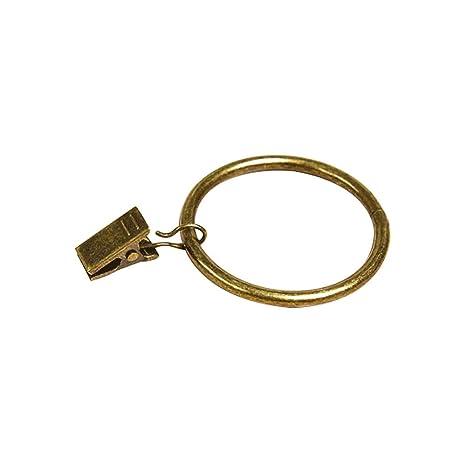 design di qualità 9f379 b0665 HSINCERELY - Tenda con Anelli Romani, Clip in Metallo ...