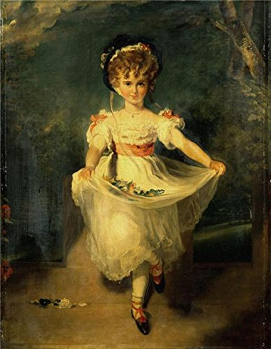 'Sir Thomas Lawrence - Miss Louisa Murray, After 1827' Oil Painting, 18x23 Inch / 46x59 Cm ,printed On High Quality Polyster Canvas ,this High Resolution Art Decorative Prints On Canvas (Miss Behaviour Costume)