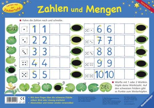 Zahlen und Mengen (Lernen mit der Zaubertafel)