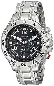 Nautica Men's 19508G NST Stainless Steel Watch