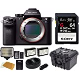 Sony a7S II ILCE7SM2/B E-mount Camera with Full-Frame Sensor (Black) Sony SFG64T1 64GB UHS-II 300MB/s Bundle