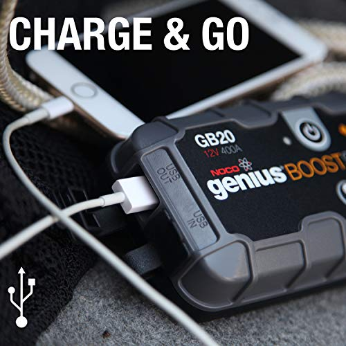NOCO Genius Boost Amp 12V UltraSafe Lithium Jump Starter