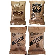 ULTIMATE MRE, Pack Date Printed on Every Meal - Meal-Ready-To-Eat. Inspected Certified by Western Frontier. Genuine Mil Surplus.