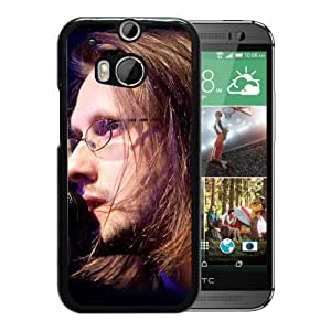 Beautiful Designed Cover Case With Steven Wilson Microphone Face Hair Light For HTC ONE M8 Phone Case