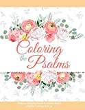 Coloring the Psalms - Christian Coloring Books