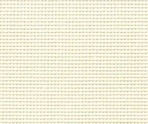 "59"" X 36"" Cream 14 Ct Counted Cotton Aida Cloth Cross Stitch"