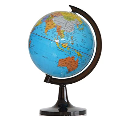 Amazon.com: RACKQI World English Plastic 14.2CM HD Globe ...